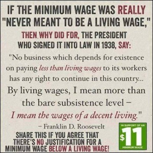 From Raise the minimum wage